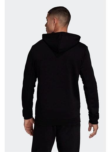 adidas Adidas Erkek Günlük Giyim Kapşonlu Eşfoman Üstü Mh Bos Po Ft Gc7343 Siyah